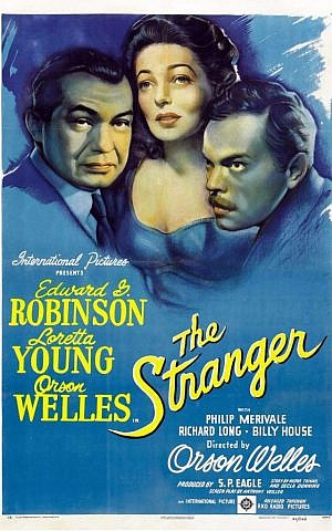 Poster for 'The Stranger' (RKO Pictures)