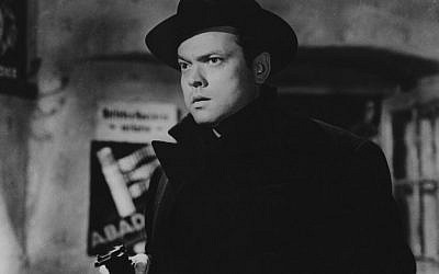 Orson Welles in 'The Third Man' (Courtesy of The Criterion Collection)