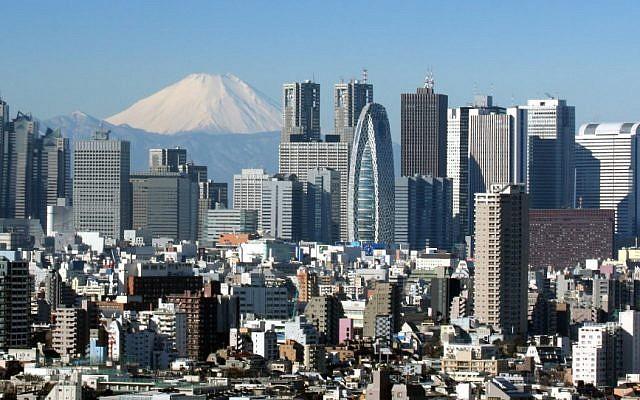 The Tokyo skyline (CC BY-SA/Kakidai )