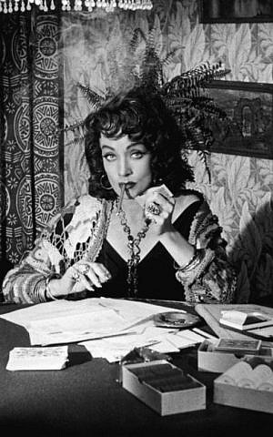 Marlene Dietrich in 'Touch of Evil' (Universal Home Video)