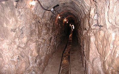 The Ein Tzuba tunnel (photo credit: Shmuel Bar-Am)