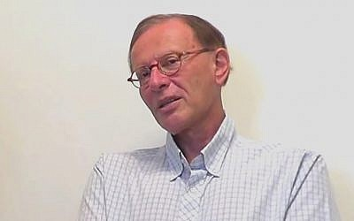 Professor Robert S. Wistrich (screen capture: YouTube)