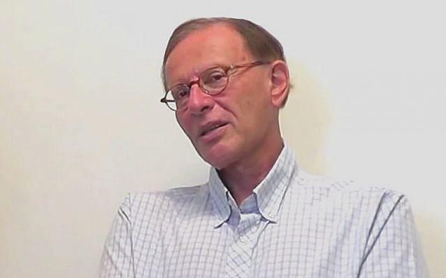 Professor Robert S. Wistrich (screen capture: YouTube)