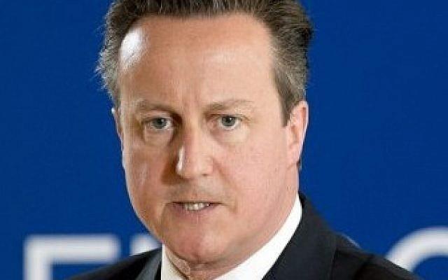 British Prime Minister David Cameron on June 26, 2015 (Alain Jocard/AFP)