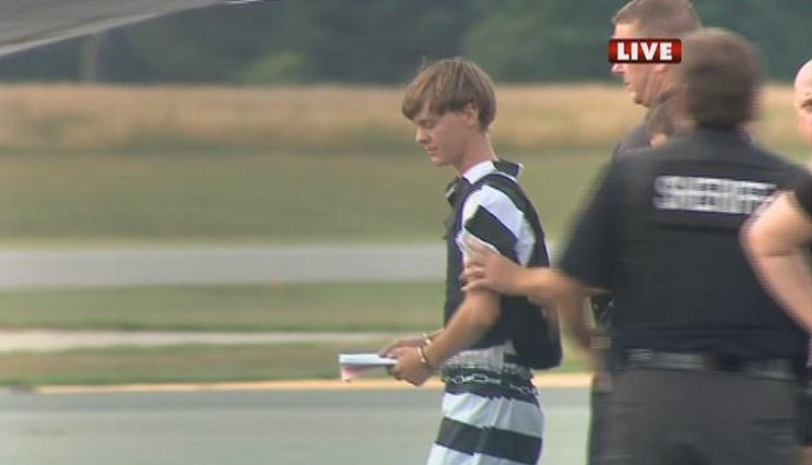 Charleston gunman decries 'Jewish agitation of black race' in