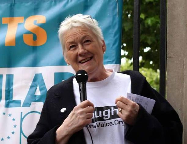 Sue Cox, founder of Survivors Voice Europe. (courtesy)