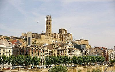 La Seu Vella cathedral in Lleida, Spain (CC BY 2.5 Hector Blanco de Frutos via Wikimedia Commons)