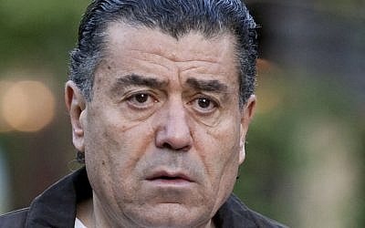 Haim Saban at a media summit in Sun Valley, Idaho, on July 8, 2009. (AP/Nati Harnik)