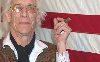 Bill Levin, the Minister of Love at the First Church of Cannabis, is expressing his freedom of religion. (courtesy)