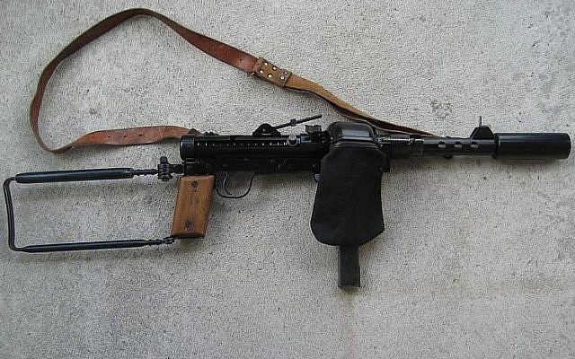 Illustrative of Carl Gustav m/45 sub-machine gun (Wikimedia/CGM45, CC BY-SA 4.0)