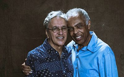 Caetano Veloso and Gilberto Gil, old friends and performers. (Courtesy)
