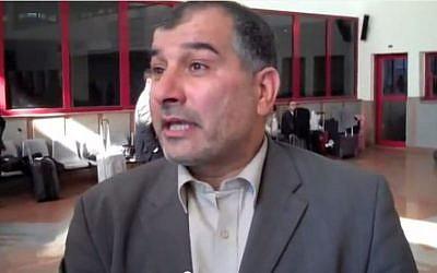 Mr. Majed Al-Zeer,  Director of The Palestinian Return Centre. (youtube screenshot/Martin Linton)