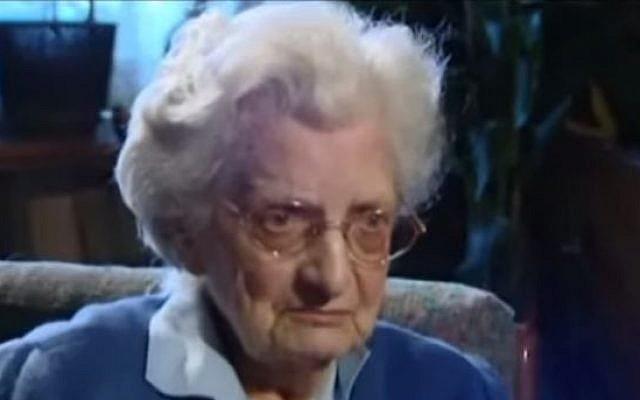 Irma Schwager (Youtube screenshot / KommunistischePartei)