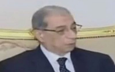 Egypt's prosecutor general, Hisham Barakat (YouTube screenshot/teleSUR English)