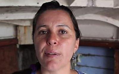 Spanish born European parliamentarian, Ana Miranda. (YouTube/Freedom Flotilla Coalition)