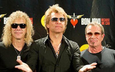 David Bryan, Jon Bon Jovi and Tico Torres of Bon Jovi (Emanuel07/CC BY-SA 3.0)
