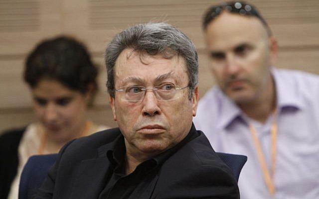 Director general of the Cameri Theatre, Noam Semel on May 2, 2012. (Miriam Alster/FLASH90)