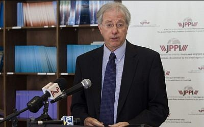 Dennis Ross, co-chairman of the board of the Jewish People Policy Institute (Flash90)