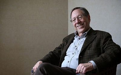 Erwin Cotler, member of the Canadian Parliament, in Jerusalem, December 31, 2013 (Hadas Parush/Flash 90)