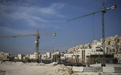 File: Construction project. (Hadas Parush/Flash90)