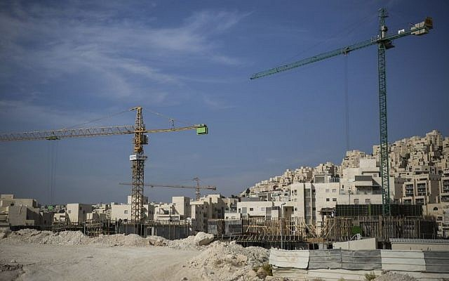 File: Construction project. (Hadas Parush/Flash90)