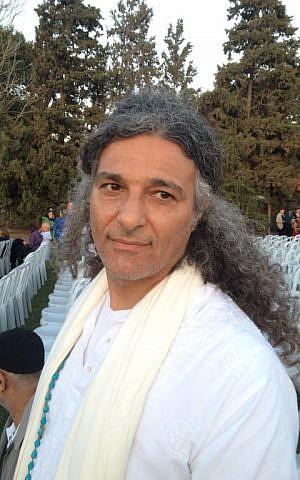 Ihab Balha of Jaffa (Elhanan Miller/Times of Israel)