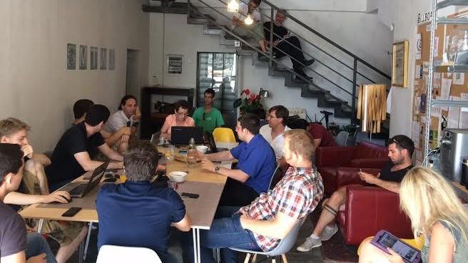 Inside Tel Aviv's Bitcoin Embassy (Courtesy)