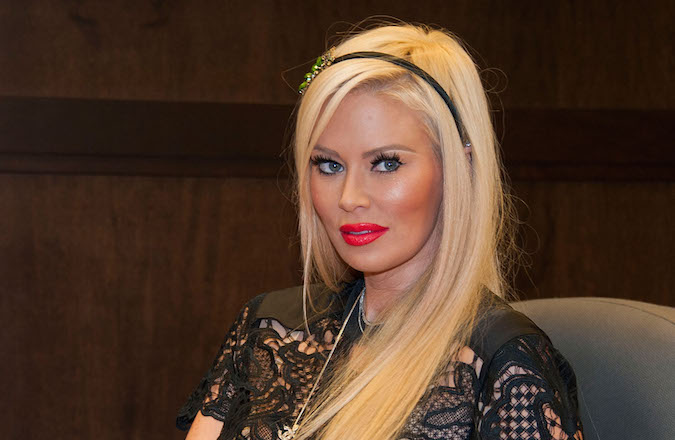 Former Adult Actress Jenna Jameson Promoting Her Erotic Novel Sugar On October 25