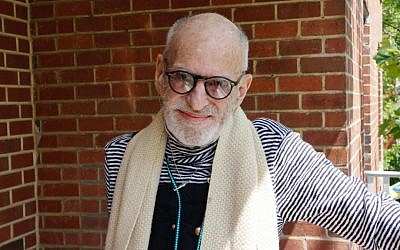 Larry Kramer, whose life and work are examined in the HBO documentary 'Larry Kramer In Love & Anger.' (Courtesy of HBO/via JTA)