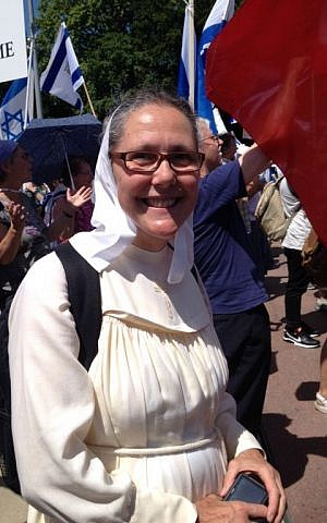 Sister Lebona came to identify with Gods chosen people from the bible Elhanan Miller/Times of Israel