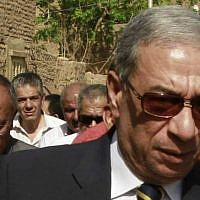 Egyptian state prosecutor Hisham Barakat, on April 8, 2014 (AP Photo/Sabry Khaled, El Shorouk Newspaper)