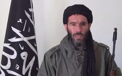 Al-Qaeda linked terrorist leader Mokhtar Belmokhtar. (YouTube/MinWashingtonNews)