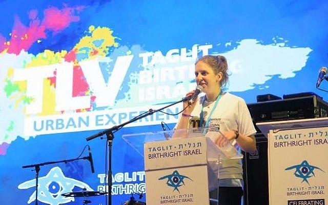 Molly Dodd, Birthright's 500,000 participant (Courtesy)
