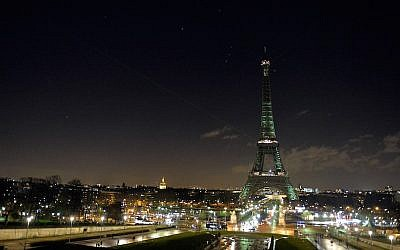 The Eiffel tower. The City of Paris leased the land for the center, which will be among the largest opened in Western Europe in recent years, free of charge. (Aurelien Meunier/Getty Images)