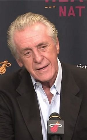 Miami Heat president Pat Riley
