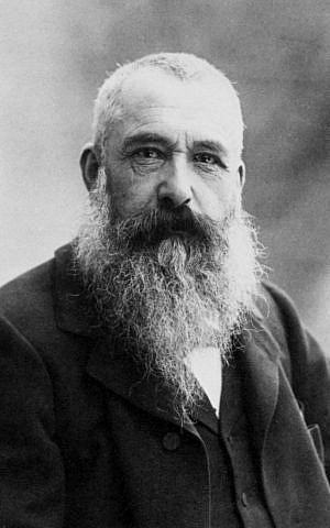 Portrait photograph of Claude Monet by Nadar, 1899 (Wikipedia)