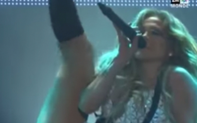 Jennifer Lopez in concert in Morocco, May 28, 2015. (Screen capture: YouTube)
