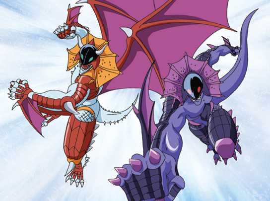 From 'Bakugan Battle Brawlers,' part of an animation series created by Canadian animation studio Nelvana which is working with The Operating Room on 'Polarizers,' the project that will be worked on in Jerusalem (Courtesy Nelvana)