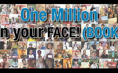 The YaLa Young Leaders peace group approaches one million supporters on Facebook. (Screen capture)