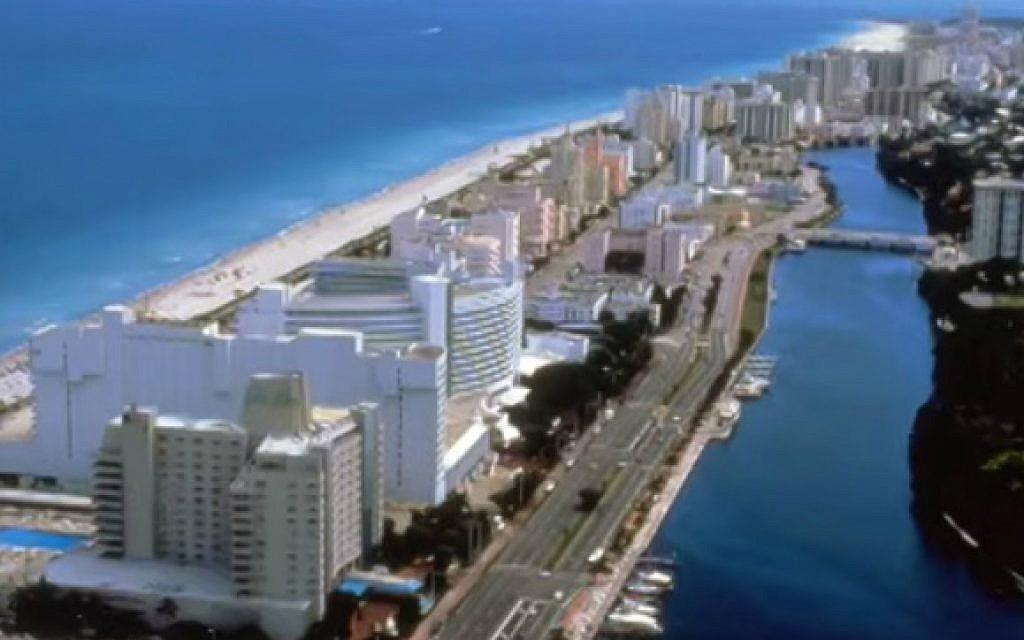 Miami Beach, Florida. (YouTube screen capture)