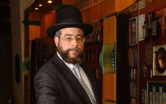 Top European rabbi urges Israel to end engagement with far-right parties