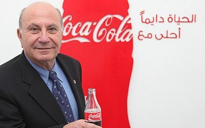Zahi Khouri, founder and chairman of National Beverage Company (Courtesy: Coca-Cola publicity)