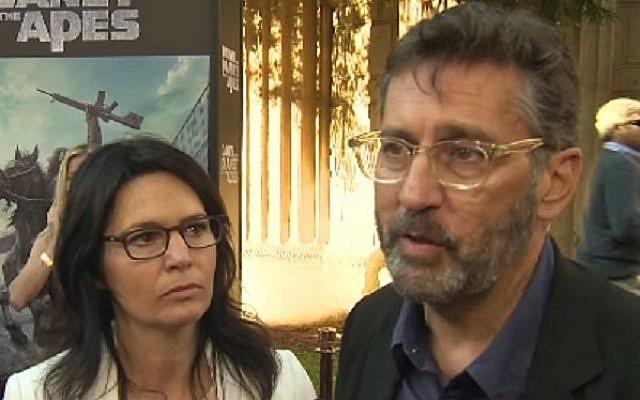 Screenwriters Amanda Silver and Rick Jaffa (YouTube screen capture)