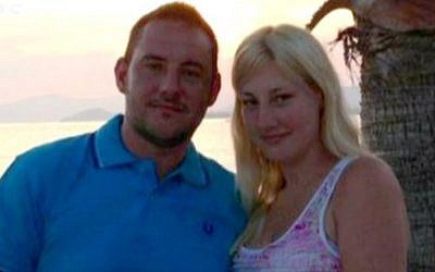 Matthew James and fiancee Saera Wilson (YouTube screen capture/BBC)