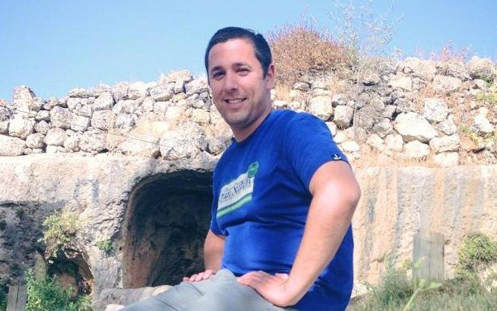 Danny Gonen, 25, from Lod, who was killed Friday, June 19, 2015 in a shooting attack near the West Bank settlement of Dolev by a Palestinian gunman (Facebook)