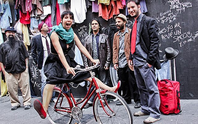 The Mexican Klezmer band Klezmerson will play Joe's Pub as part of the first-ever Kulturfest on June 19, 2015. (Courtesy of Kulturfest/ via JTA)