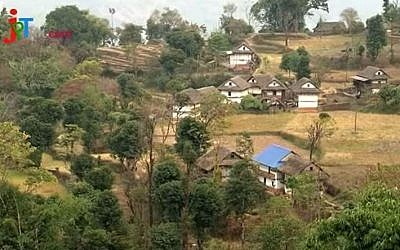 Illustrative: Houses in Taplejung district, Nepal. (YouTube/Krishna Kumar Grg)
