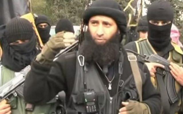 Al-Nusra Front fighters in Syria (YouTube screen capture/al-Jazeera)