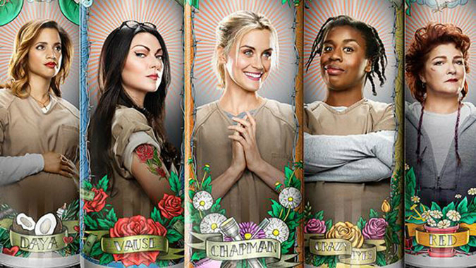 Members of the cast of 'Orange Is the New Black.' (Netflix/