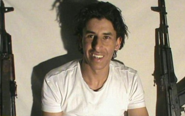 Tunisian beach gunman Seifedinne Rezgui, in an image released by Islamic State on June 27, 2015